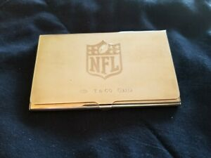 Tiffany Co Sterling Nfl Business Card Holder