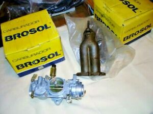 Vw Dual Solex Brosol 32 34 Pdsi 2 3 Carburetors With Manifolds Type I Ii Iii