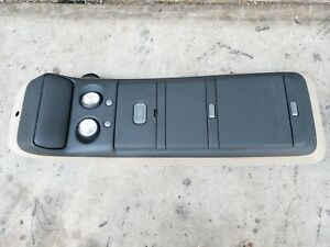 99 00 01 02 06 Chevy Silverado Sierra Overhead Console Cubby Map Dome Light Gray