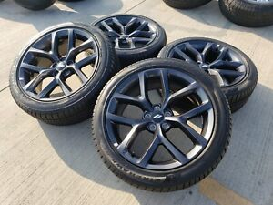 20 Dodge Charger 2019 R T Challenger Oem Gray Wheels Rims Tires 2018 Tpms New