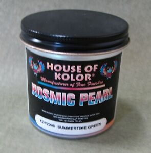 2 Oz House Of Kolor Kdp2005 Summertime Green Pearl Discontinued
