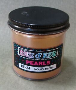 2 Oz House Of Kolor Dp34 Inca Gold Pearl Discontinued New