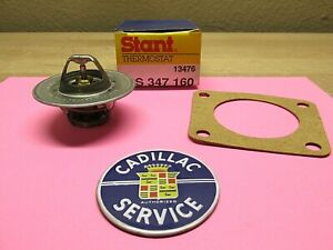 1942 1962 Cadillac Thermostat With Housing Gasket New 160 Degrees Made In Usa