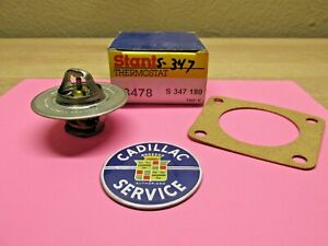 1942 1962 Cadillac Thermostat With Housing Gasket New 180 Degrees Usa Made