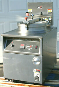Bki Fkm F Extra Large 24 Electric Commercial Pressure Deep Fryer