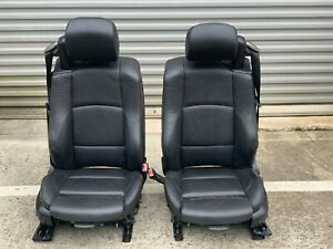 Oem Bmw E93 328 335 Convertible Front Sport Seats Set With Seat Belts Black
