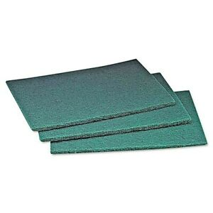 60 Count Restaurant Pack 3 M Scotch brite Scour Pad 6 X 9 Green 60 Count