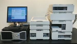 Agilent Hp 1100 Series 7 piece Hplc System Dad Computer W chemstation