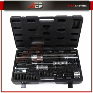 40pc Diesel Master Diesel Injector Extractor Puller Tool For Mercedes Audi Bmw