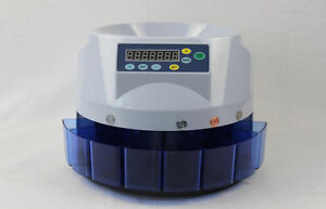 Electronic Automatic American Coin Count Sort Machine Coin Counter Sortor 110v