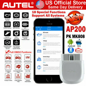 Autel Ap200 Bluetooth 4 0 Obd2 Code Reader Diagnostic Scan Tool Android Iphone