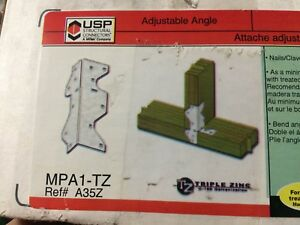 Lot Of 100 Mpa1 tz Usp Multi purpose Adjustable Angle Framing Plate