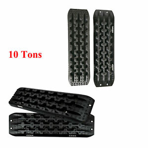 4piece Universal Truck Recovery Traction Offroad Sand Track Snow Mud Tire Ladder