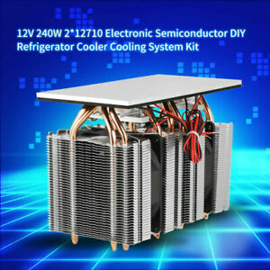 12v 240w Electronic Semiconductor Diy Refrigerator Cooler Cooling System