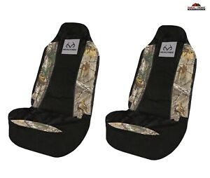 Realtree Camo Universal Car Truck Bucket Seat Covers 2pk New
