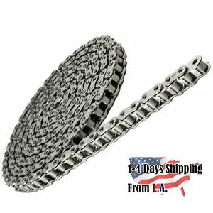 100 Ss Stainless Steel Roller Chain 10 Feet With 1 Connecting Link