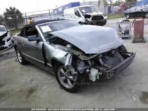 Driver Front Seat Bucket With Sport Type Convertible Fits 05 09 Mustang 577616
