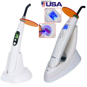 Dental Led Lamp Curing Light Wireless 2000mw Meter Led b Azdent