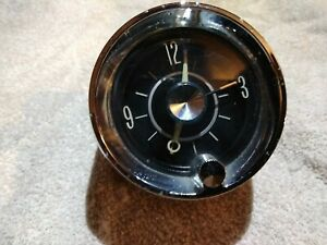1963 Cadillac Coupe Deville Clock