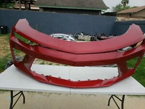 2016 2017 2018 Chevy Camaro Ss Front Bumper Used Oem