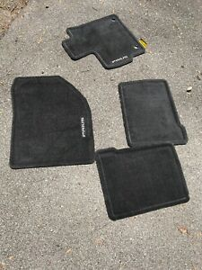 2012 2015 Toyota Prius Charcoal Gray Carpet Floor Mats Rugs Oem 12 13 14 15