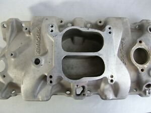 Edelbrock 2101 Performer Series Intake Manifold For Chevy Small Block V8 Used