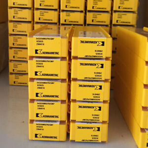 10pcs Kennametal A4g0200m02p02gmp Kc5025 Grooving And Cut off Carbide Inserts