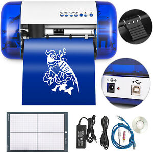 A4 Sign Vinyl Cutter Cutting Plotter Machine Mat 7 level Pressure Windows