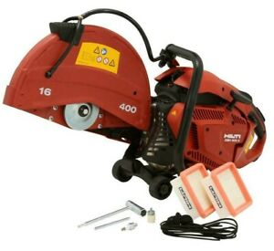 Hilti Dsh 900x 90cc 16 In Hand held Gas Saw Wet Dry Concrete Cutter New