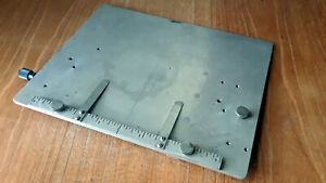 Kingsley Hot Foil Stamping Machine 8 X 10 Inch Extension Base plate
