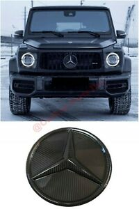 W464 Carbon Front Grille Logo Badge Mercedes G Gl Ml Class W463 W463a X166 W166