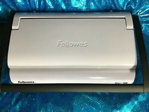 Comb Binding Machine Fellowes Star 150 Model Crc 50065 With Combs