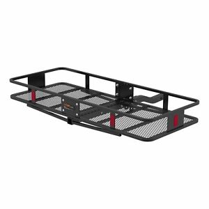 Curt 18153 Basket Trailer Hitch Cargo Carrier 500 Lbs Capacity 60 X 23 Inch