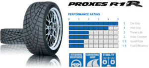 1 New Toyo Proxes R1r 205 50r16 87v Tire 205 50r16 205 50 16 2055016