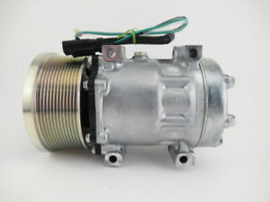 New Ac Compressor For Caterpillar 320e D2l D2gc D2 Excavator 6095