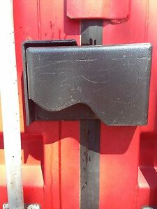 Cargo Container Security Lock Box W block Lock bolts template Free Shipping