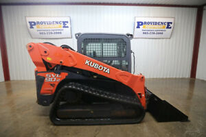 2013 Kubota Svl 90 2 Cab Skid Steer Track Loader 2 Speed Ac heat