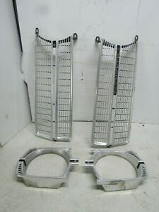 67 Plymouth Valiant Signet Grille With Headlight Trims Left And Right