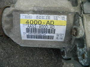 Ford taurus flex explorer Carrier assem rear differential aa53 4000 ad