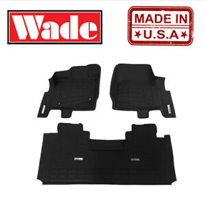 2006 2008 Dodge Ram 2500 3500 Mega Cab Sure fit Floor Mats