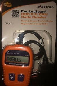 Actron Pocket Scan Code Reader Cp9125 New Sealed
