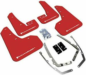 Rally Armor Ralmf37 Ur Rd Wh For Vw Ur Red Mud Flap