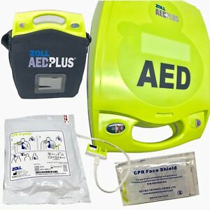 Zoll Aed Plus Fully automatic First Responder Kit prescription Program Mgmt