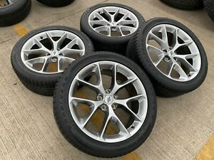 20 Dodge Charger R t Challenger Oem Gray Wheels Rims Tires 2018 2019 6mn94trmaa