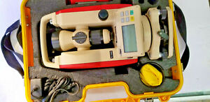 Omni 5600 5 Digital Theodolite Used 2 Battery Packs Ac Charger Original Case