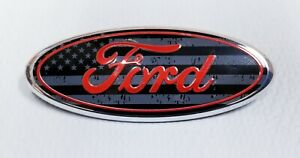 1pc New Ford F150 F250 F350 American Flag Front Grille Tailgate Badge Emblem 9