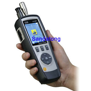 Dt 9881m Air Particle Counter Detector Hcho Co Detector Temp humidity Tester