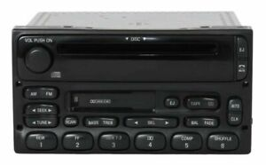 2003 Ford Ranger Pickup Truck Am Fm Radio Cassette Cd Player Part Xl2f 18c868 ab