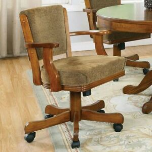 Coaster Furniture Executive Office Chair Olive Brown