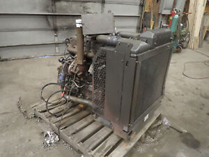 Perkins 1104d e44ta Turbo Diesel Engine Runs Good Nj Power Unit Cat C 4 4 3054e